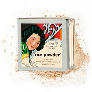 Puder ryżowy sypki - 17 g - transparentny/naturalny